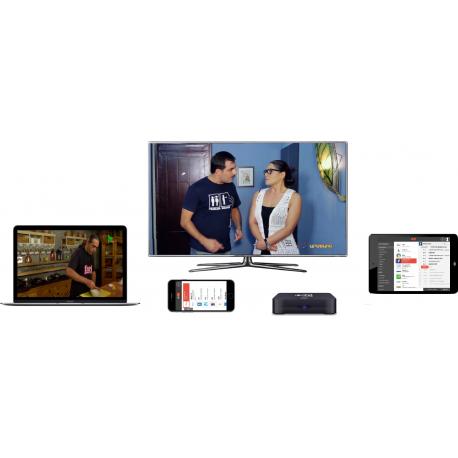 IZITV Pack 3 + IZIBOX